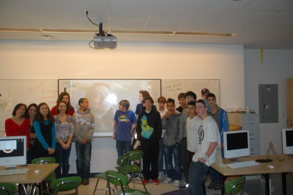 BrainPOP Animator Inspires Students via Skype!