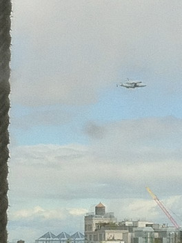The Space Shuttle comes to NYC!