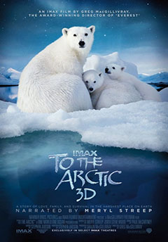 the Arctic IMAX contest: earth awareness