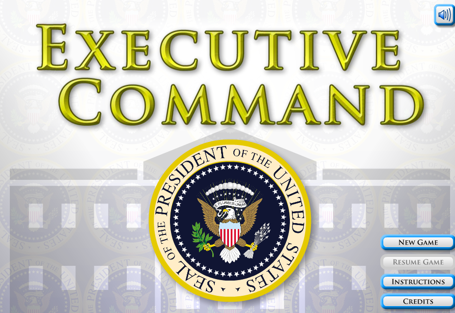 Executive Command Social Studies Game