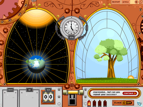Chronopticon Learning Game