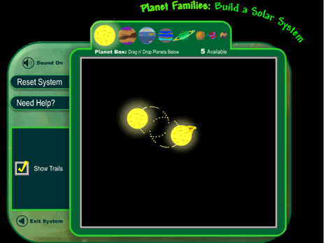 Build a Solar System Science Game