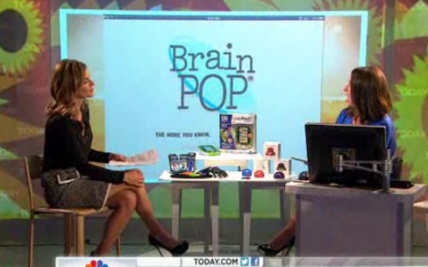 BrainPOP on the Today Show