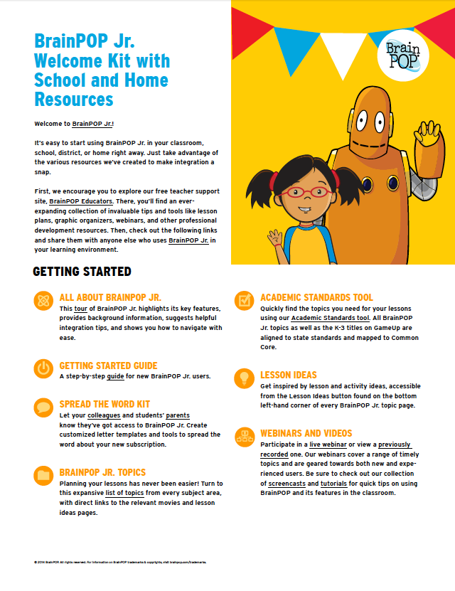 BrainPOP Jr. Subscription Overview