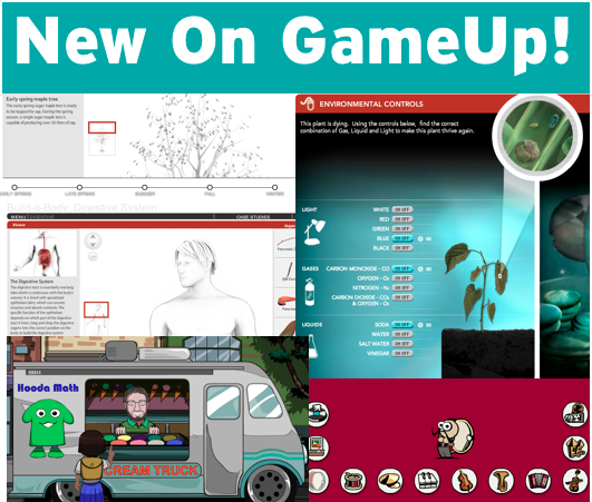 New Games on GameUp!