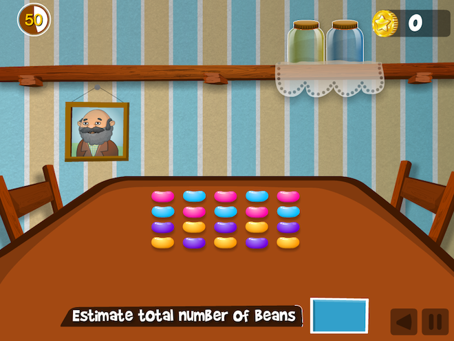 Jelly Bean Math Game