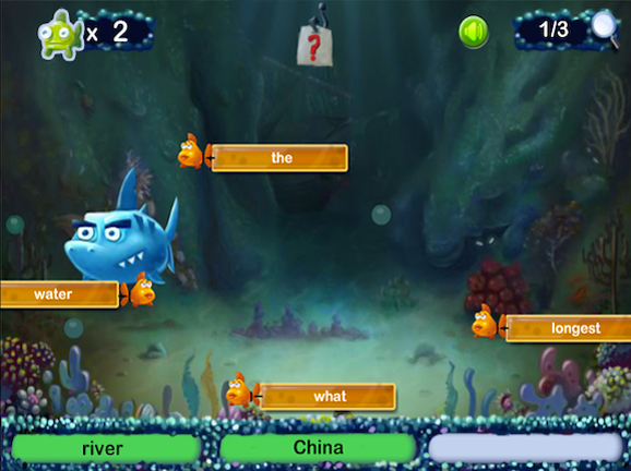 Search Shark Learning Game