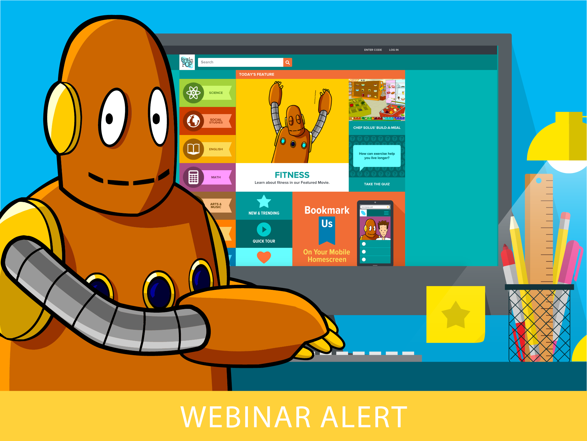 BrainPOP Educators August Webinars