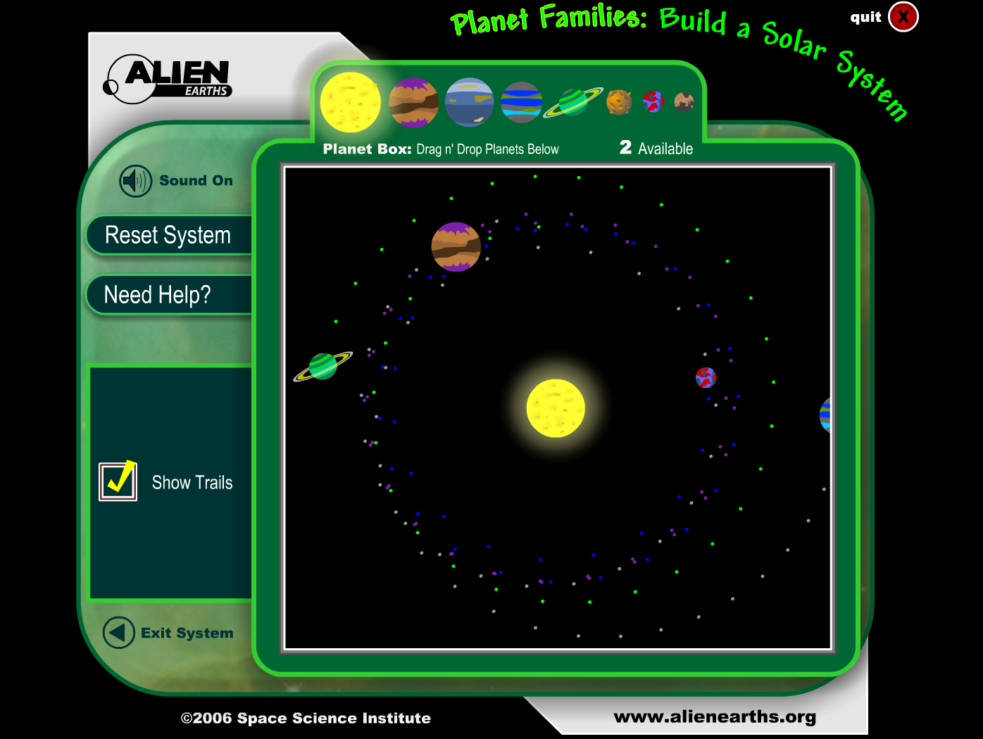 Collaborative Classroom Games ~ Brainpop jr solar system background information