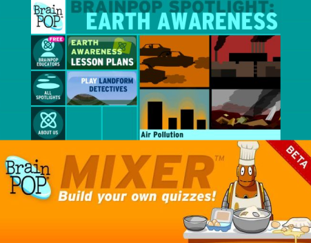 Earth Awareness and the Mixer