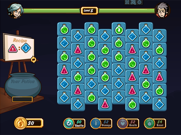Ratio Rumble Math Game