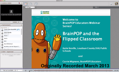 Flipped Classroom and BrainPOP