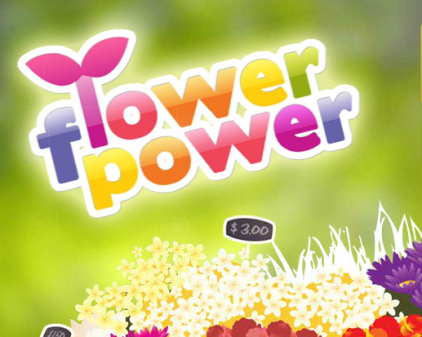 Flower Power Math Game