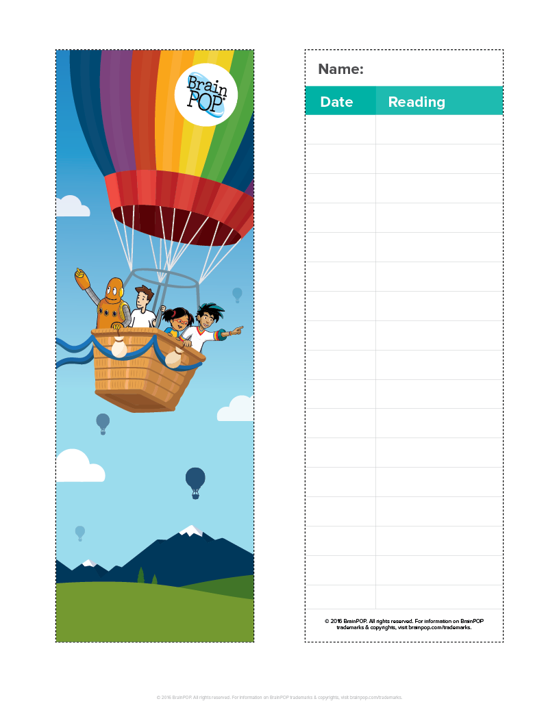 BrainPOP Bookmark – Bookmark it!
