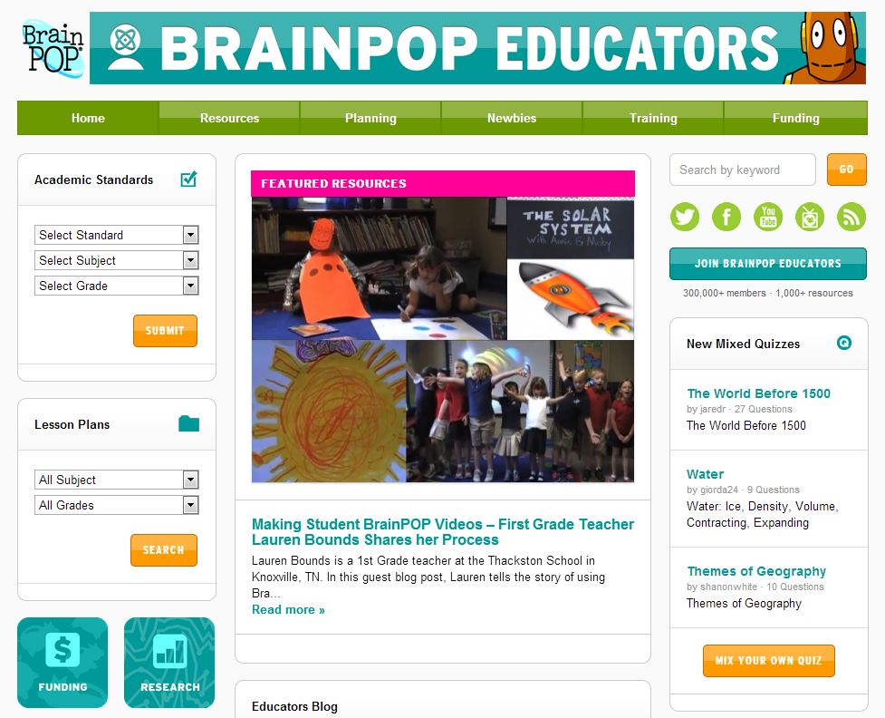 Professional Development with BrainPOP Educators
