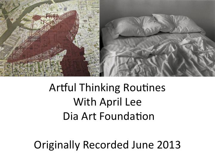 Artful Thinking Routines