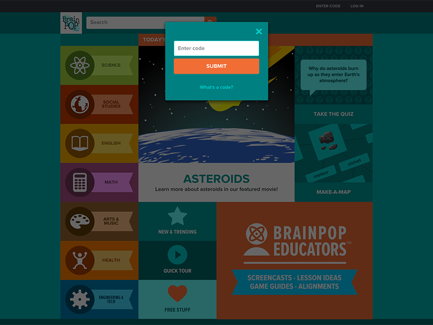 My BrainPOP – Overview