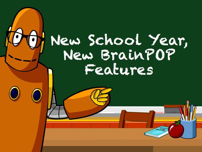 New School Year, New BrainPOP: 5 New Features