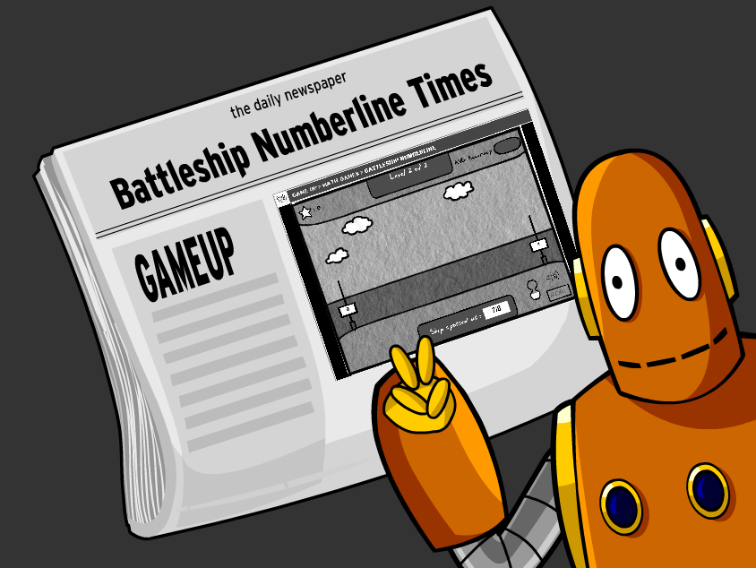 Battleship Numberline in the Wall Street Journal – Games Really Do Make a Difference!