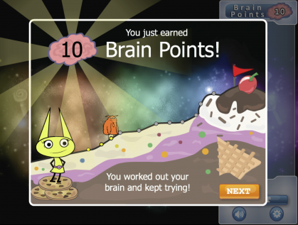 Brain Points: A Growth Mindset Reward Structure Boosts Player Persistence!