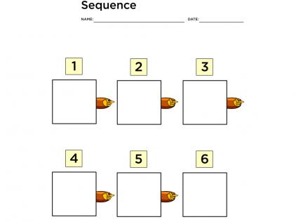 sequence graphic organizer