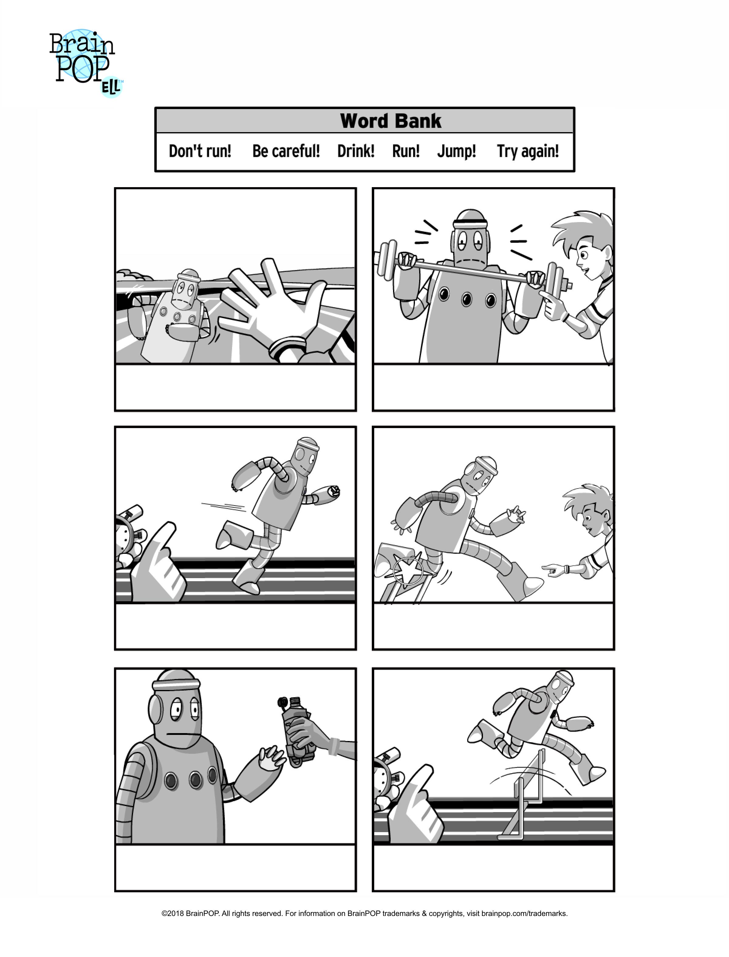 Commands Comic Strip