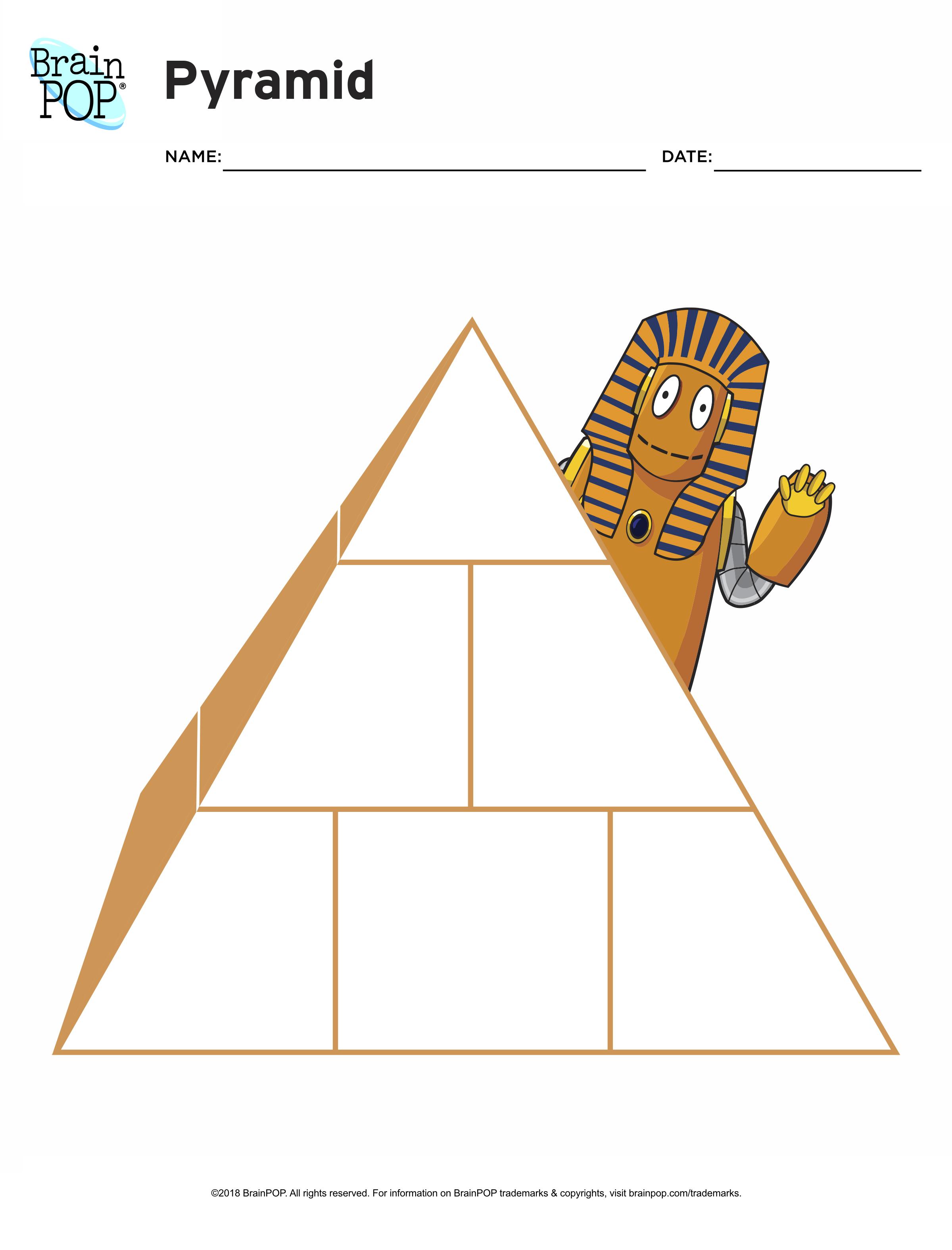 Pyramid Graphic Organizer