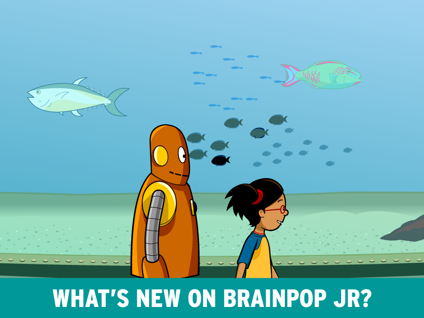 New Movie on BrainPOP Jr.- Fish