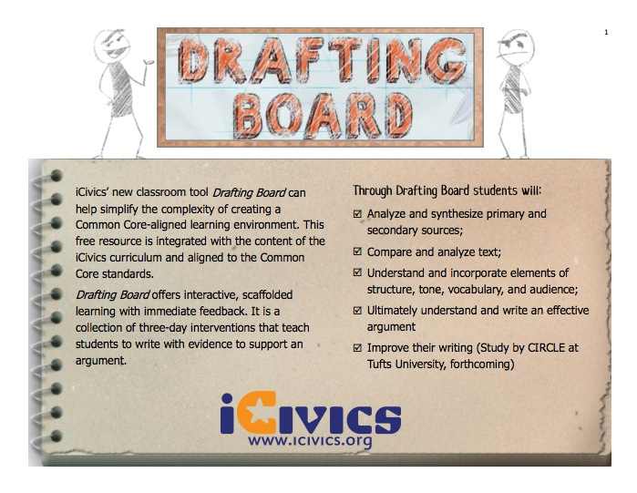 Drafting Board 6 Topic Overview Teacher's Guide