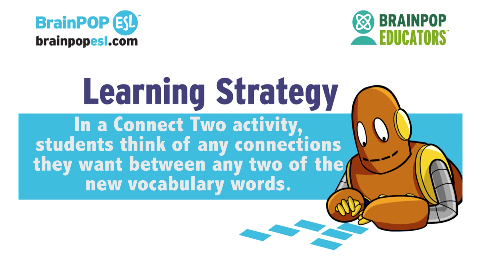 ESL Learning Strategies: Connect Two