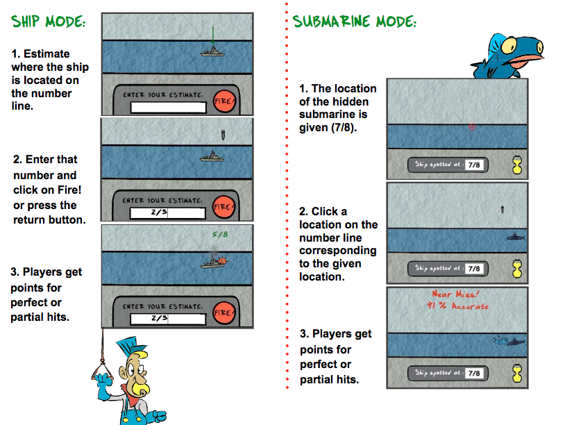 Battleship Numberline Game Guide