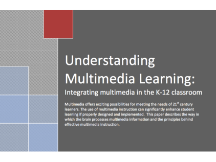 research paper on using multimedia in the classroom