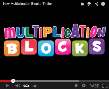Multiplication Blocks Game Trailer