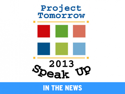 The 2013 Speak Up Survey Results Are In!