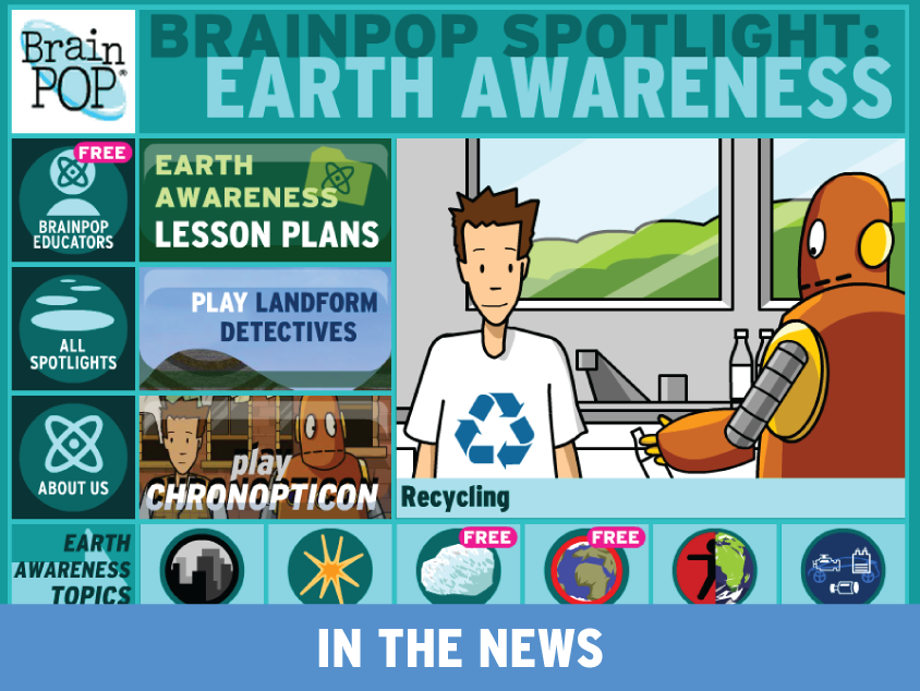 April Spotlight on Earth Awareness