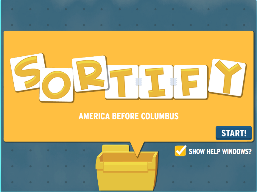 Sortify: American Indians Game