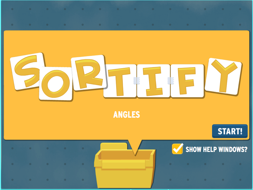 Sortify: Angles Game