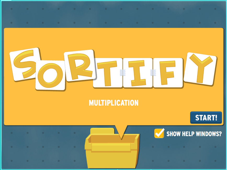 Sortify: Multiplication Game
