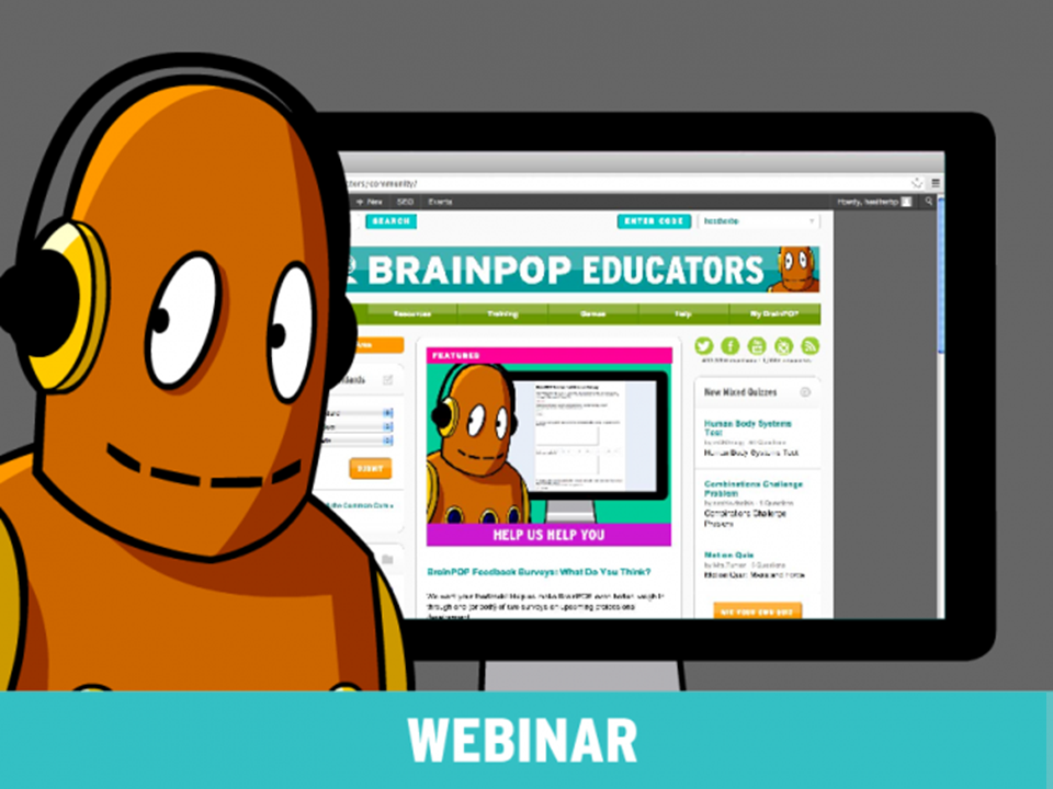 BrainPOP Educators Features