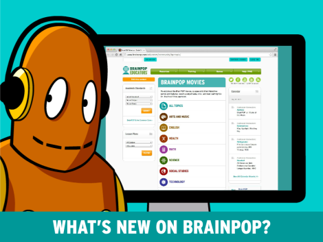 What's new on BrainPOP