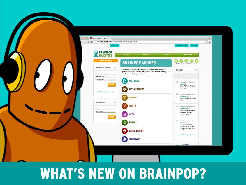 What's new on BrainPOP