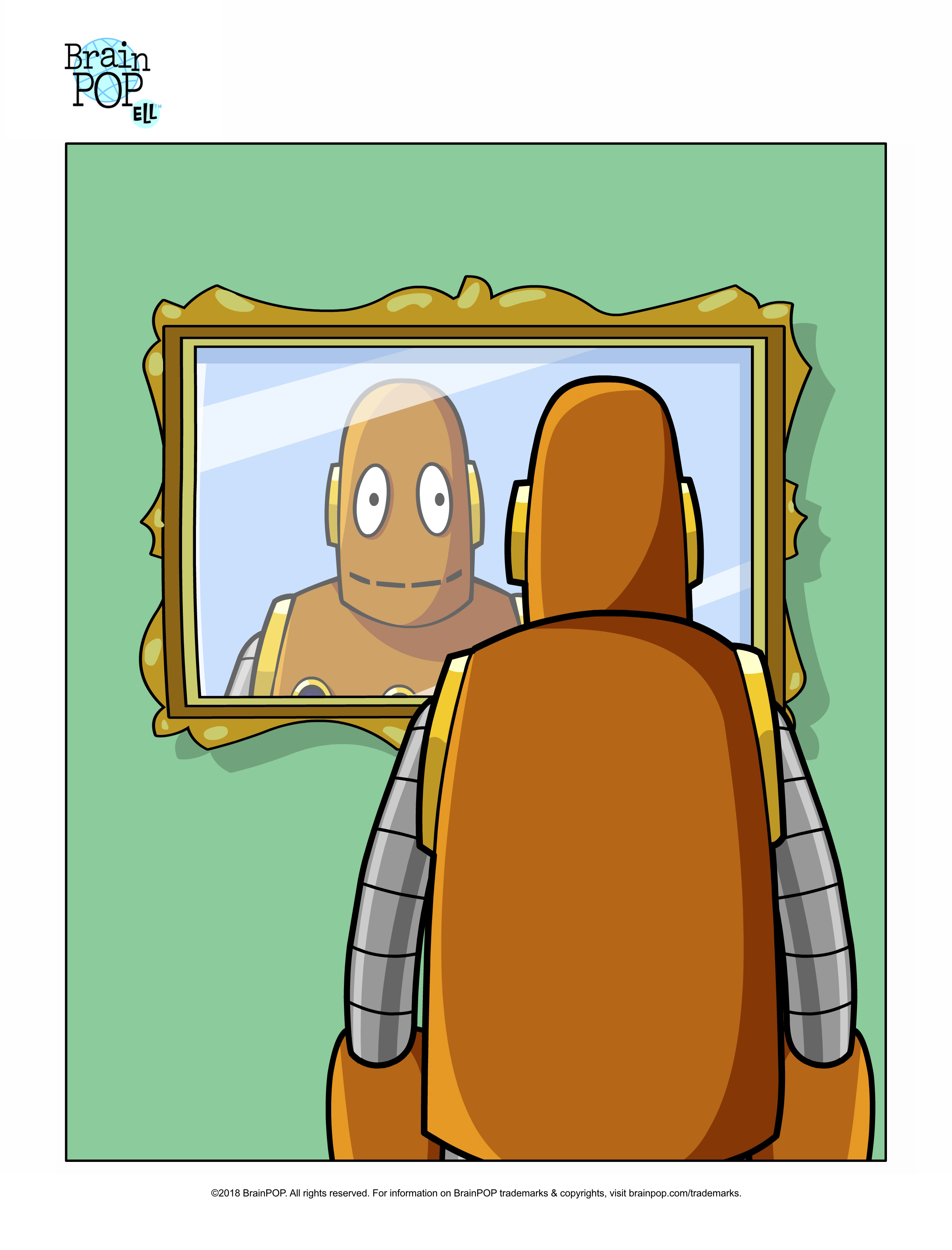 Who is That? Picture Prompt: Reflexive Pronouns