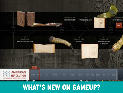 New on GameUp: American Revolution Timeline