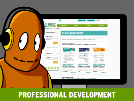 Get started with brainpop