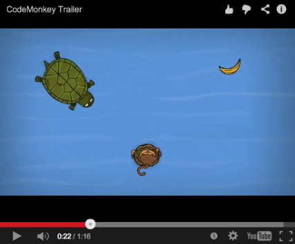Code Monkey game trailer