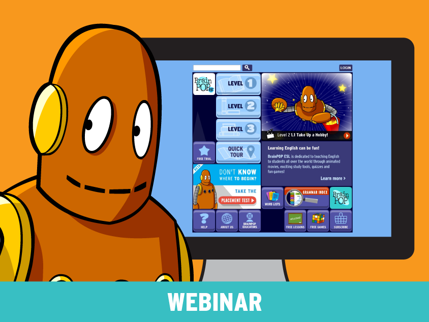 BrainPOP ESL: Supporting English Language Learners