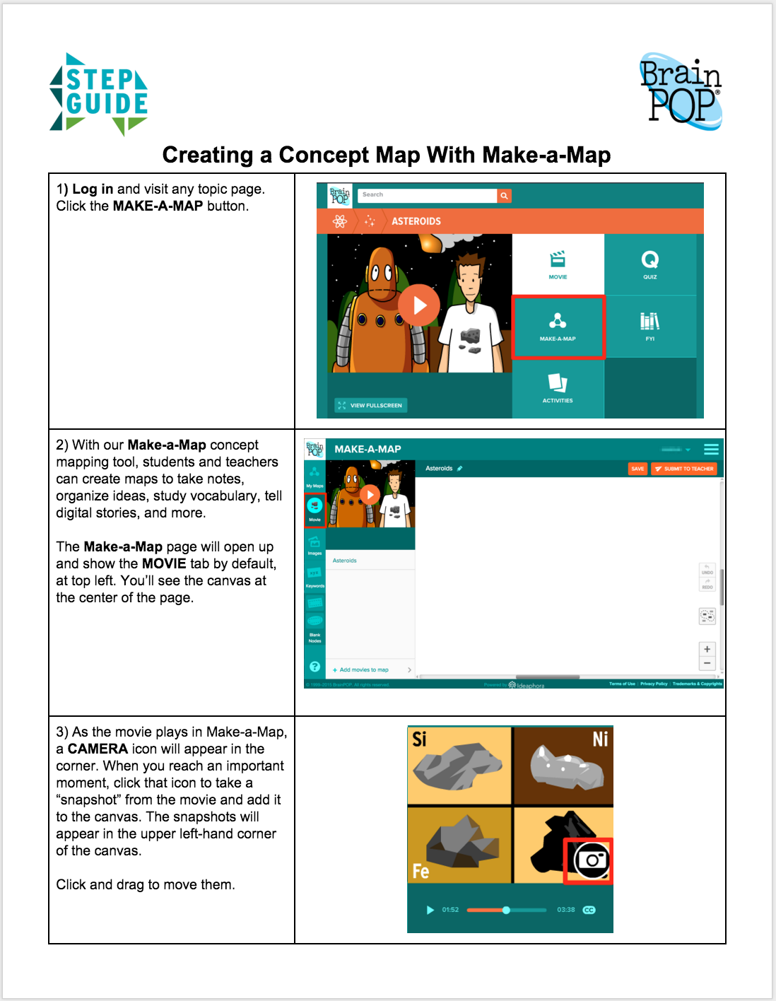 Make-a-Map Step Guide
