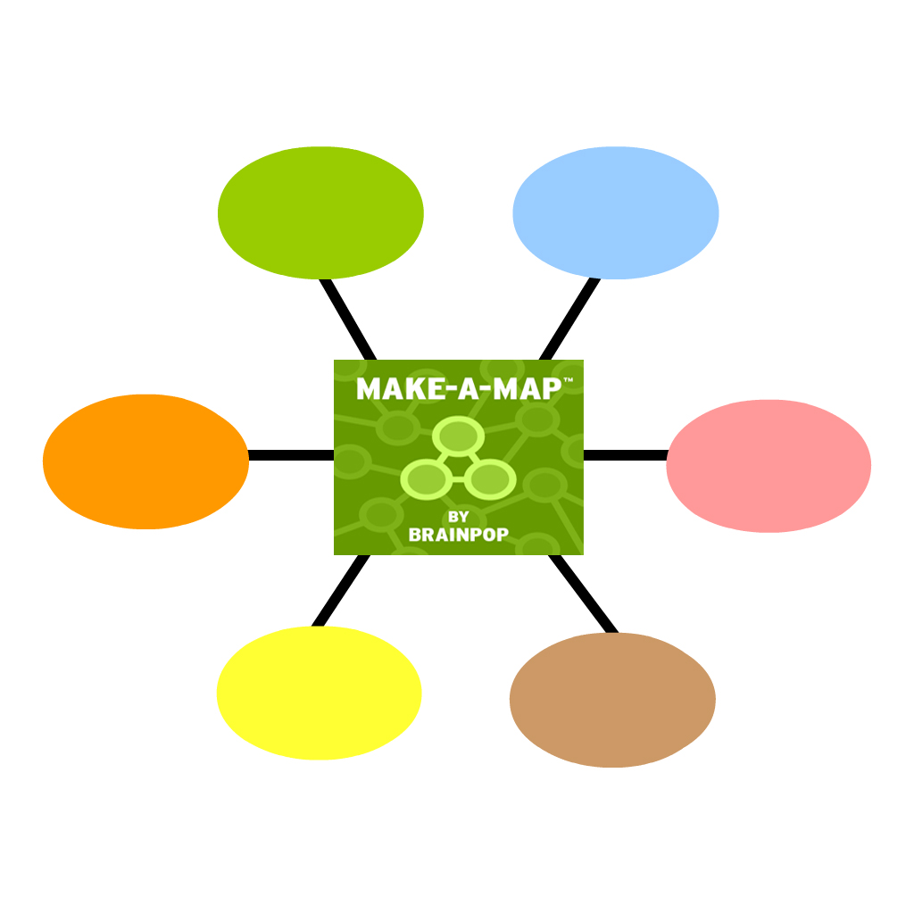 Concept Mapping with BrainPOP's Make-A-Map Tool