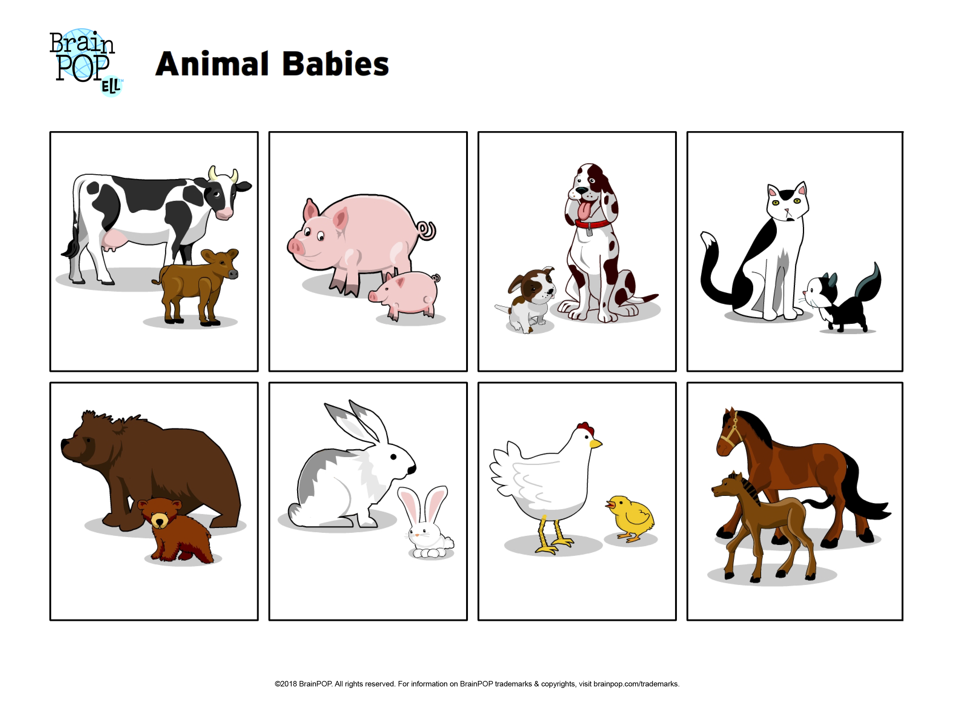 Animal Babies Image Prompt