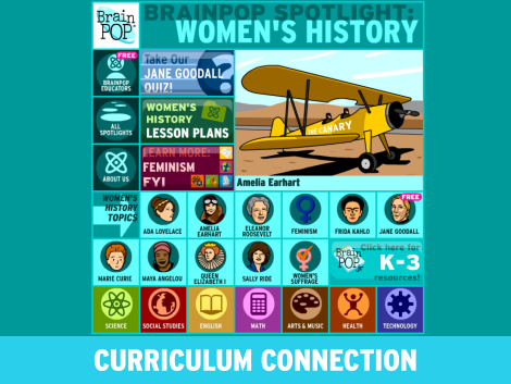 March Curriculum Connections